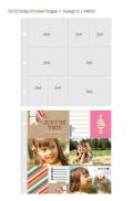 【シンプルストーリーズ/Simple Stories】【Sn@p!】12インチポケットページ-Design6-10枚