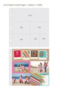 ★在庫限りで販売終了★【シンプルストーリーズ/Simple Stories】【Sn@p!】12インチ-ポケットページ-Design9-10枚