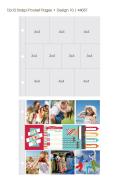 【シンプルストーリーズ/Simple Stories】【Sn@p!】12インチ-ポケットページ-Design10-10枚