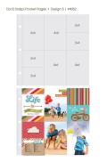 【シンプルストーリーズ/Simple Stories】【Sn@p!】12インチ-ポケットページ-Design5-10枚
