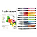 アルテニュー Watercolor Brush Markers - Tropical Fiesta Set