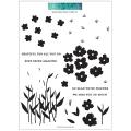 コンコード&ナインス Wildflower Fields クリアスタンプ