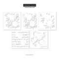 コンコード&ナインス  In Bloom Stencil Pack
