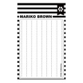【マリコ ブラウン/Mariko Brown】クリアスタンプ - Stitched lines