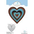 エリザベスクラフトデザイン Scalloped Hearts