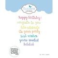エリザベスクラフトデザイン Words 1 - Celebration