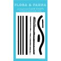 フローラ&フォーナ Texture Stripes 11 スタンプ