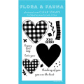 フローラ&フォーナ  Buffalo Plaid Heart