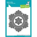 ローンフォーン stitched snowflake frame