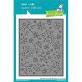 ローンフォーン stitched snowflake backdrop
