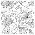 マイフェイバリットシングス Harmonious Hibiscus Background