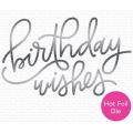 マイフェイバリットシングス Foiled Birthday Wishes