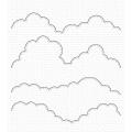 マイフェイバリットシングス Stitched Rolling Clouds Edges