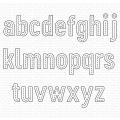 マイフェイバリットシングス In Stitches Lowercase Alphabet