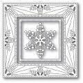 メモリーボックス Bauble Snowflake Frame