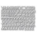 ポピースタンプ Poetic Uppercase Alphabet