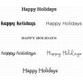 ペーパートレイインク Keep It Simple: Happy Holidays Mini Stamp Set