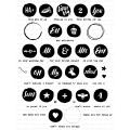 ペーパートレイインク  Circled Symbols