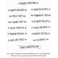 ペーパートレイインク Cloche Quarters: Sentiments Mini Stamp Set