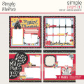 シンプルストーリーズ Say Cheese Main Street Simple Pages Page Kit