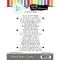 テイラードエクスプレッション Simple Strips - Crafty