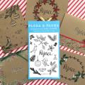 【ワークショップ】Marikoとクリスマスクラフトカード