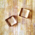 【クロップパーティー/Crop Party】アクリルブロック-2個セット(3.2×3.2センチ)