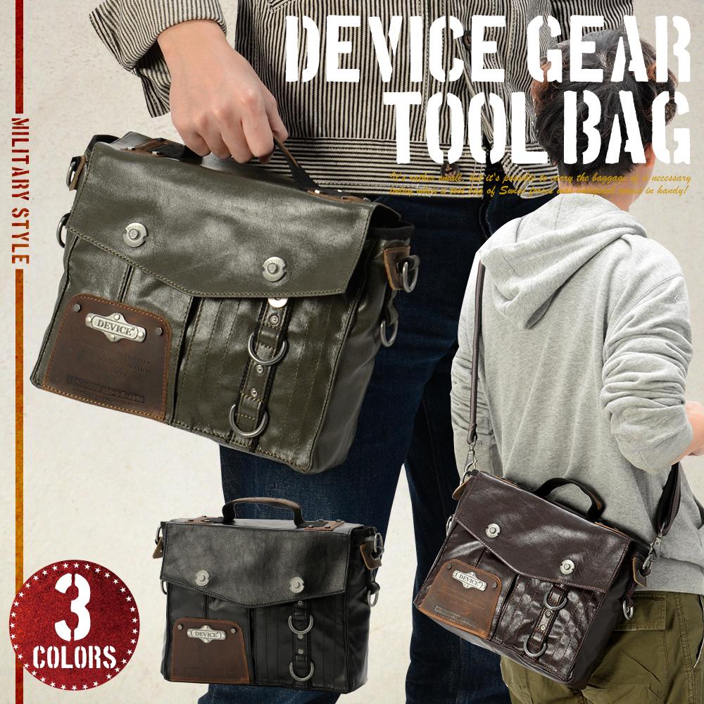 DEVICE gear ツールバッグ【DSH-50079】