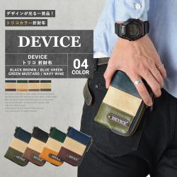 DEVICE トリコ折財布