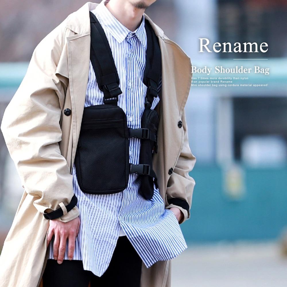 Rename CORDURA ベスト型 ボディショルダーバッグ