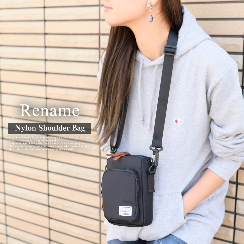 Rename ナイロンミニショルダーバッグ  【RSN80023ZZ】