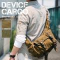 【送料無料】DEVICE Cargo ショルダーバッグ ボディバッグメンズ向けウエスト