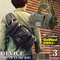 DEVICE MAD 4way ヒップバッグ(DWG-50088)