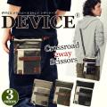 DEVICE クロスロード 2way シザーケース シザーバッグ チョークバッグ ミニショルダーバッグ ミニバッグ ショルダーポーチ メンズ ブランド