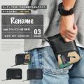 Rename coat ラウンド二つ折り財布
