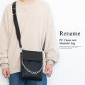 Rename PU チェーンベルト ショルダーバッグ【RSG90038ZZ】
