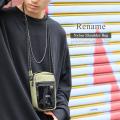 Rename PVCポケットナイロンミニショルダーバッグ