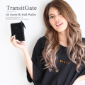 TransitGate G5 スエード 二つ折り財布 【TGP9158】