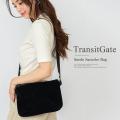 TransitGate G5 スエード サコッシュバッグ  【TGS9168】