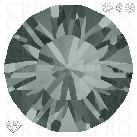スワロフスキー #1028 ブラックダイヤモンド