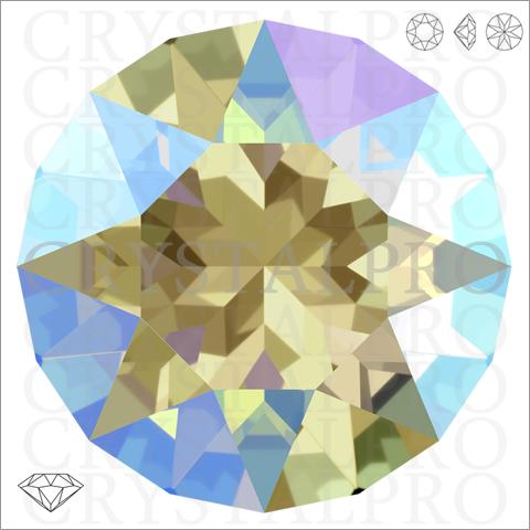 スワロフスキー #1088 ブラックダイヤモンドシマー