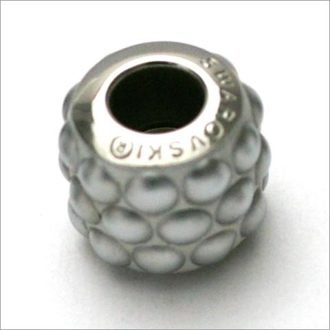 スワロフスキー ビーチャーム 180601 クリスタルクローム マットフィニッシュ