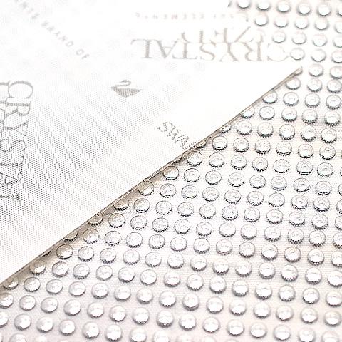 スワロフスキー メタル 3490 Silver Polished