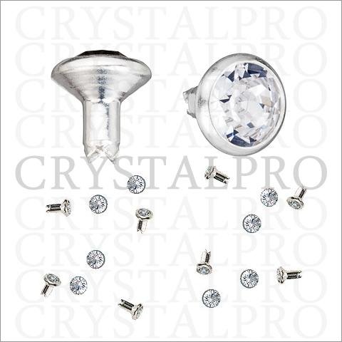 【お取り寄せ】スワロフスキー 53 001 Rivets 082 Silver SS29 500pcs