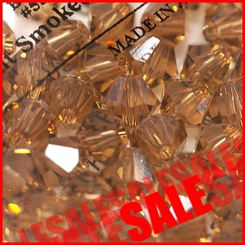 スワロフスキー #5301 ライトスモークトパーズ
