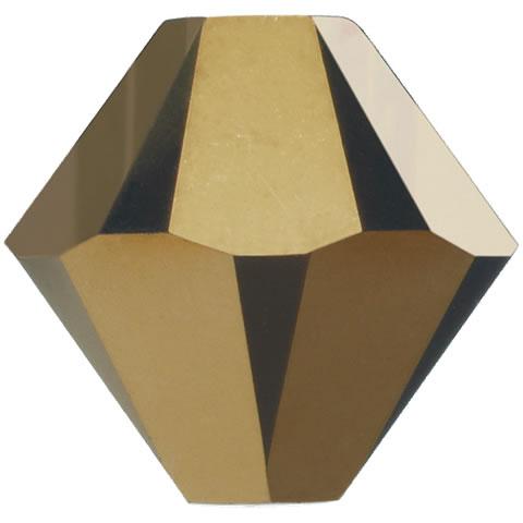 スワロフスキー ビーズ #5328(#5301) ソロバン型 クリスタルドラド2X