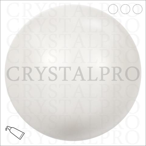 スワロフスキー 5809 クリスタルホワイトパール