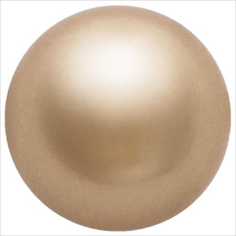 スワロフスキーパール #5810 クリスタルブロンズパール