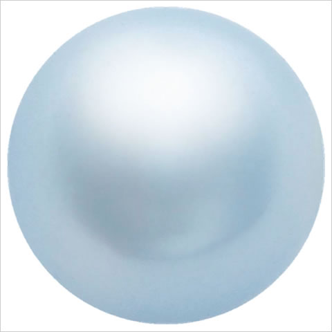スワロフスキーパール #5810 クリスタルライトブルーパール
