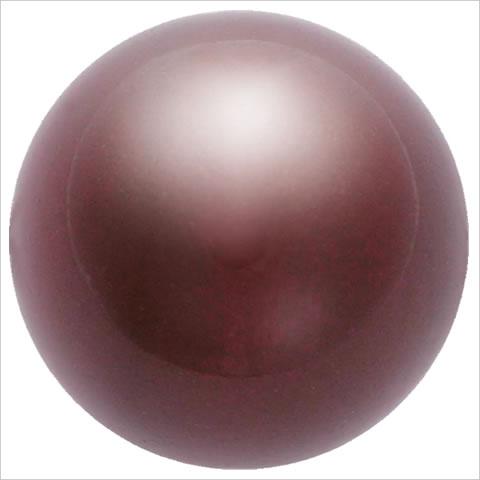 スワロフスキーパール #5810 クリスタルマルーンパール